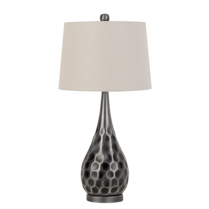 Louis Matte Black Metal And Wood Table Lamp Table Lamp Wood Black Table Lamps Metal Table Lamps