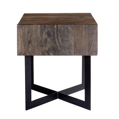 Tiburon Grey Side Table