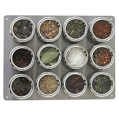 Lipper International Soho 12-Piece Stainless Steel Container and Small Board Set