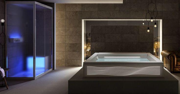 Mejores 172 im genes de ba eras bathtubs en pinterest - Saunas en barcelona ...