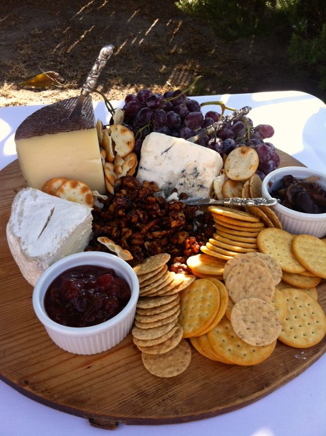 Dinner Party Nibbles Ideas Part - 49: Rustic 3 Cheese Platter W/ Figs 2 Ways · Dinner Party ...