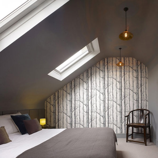 I luv the ceiling: Dreams Bedrooms, Attic Bedrooms, Guest Bedrooms, Gardens Houses, Houses Ideas, Interiors Design, Bedrooms Wall Colors, Bedrooms Wallpapers, Bedrooms Inspiration