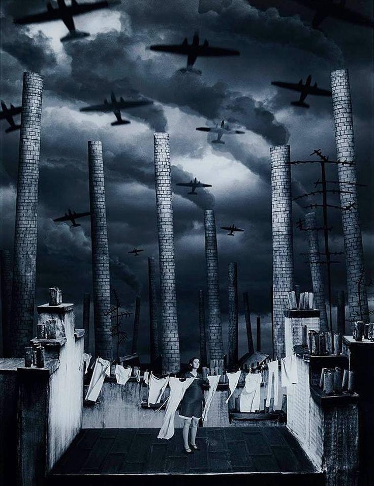 HELENA BLOMQVIST ( född 1975 i Smedjebacken, är en svensk fotokonstnär bosatt och verksam i Stockholm) 'WOMAN WITH LAUNDRY', 2006 Lambda-print mounted on acrylic glass