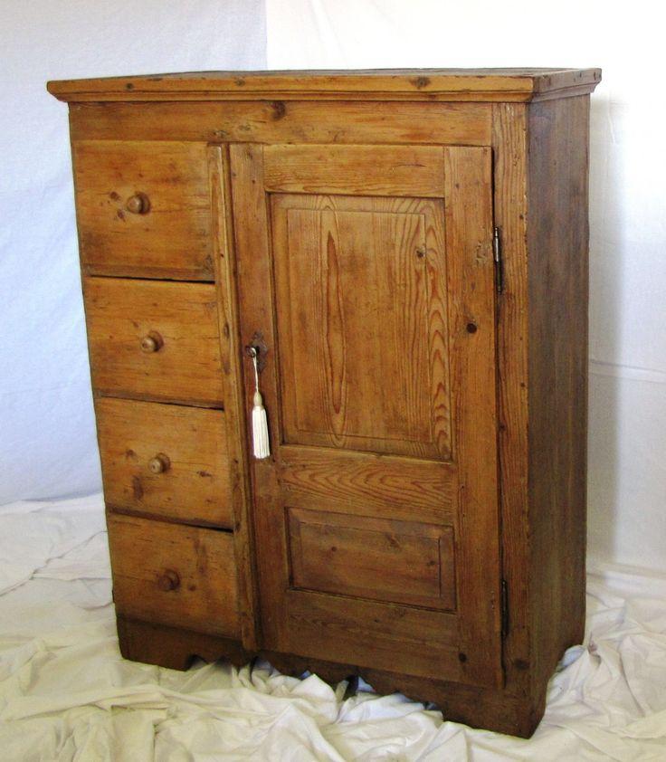Oltre 1000 idee su mobili da cucina antichi su pinterest - Mobiletti in legno ...