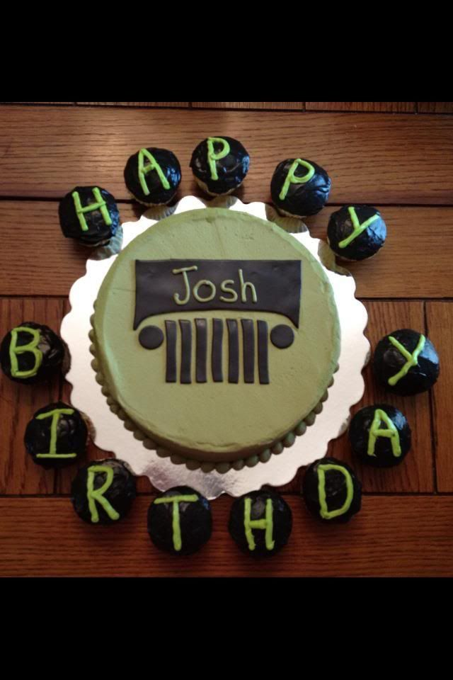 Pin Jeep Birthday Cake Jkowners Wrangler Forum cakepins.com