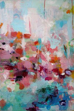 "Artist Sandy Dooley, ""Eddying"""