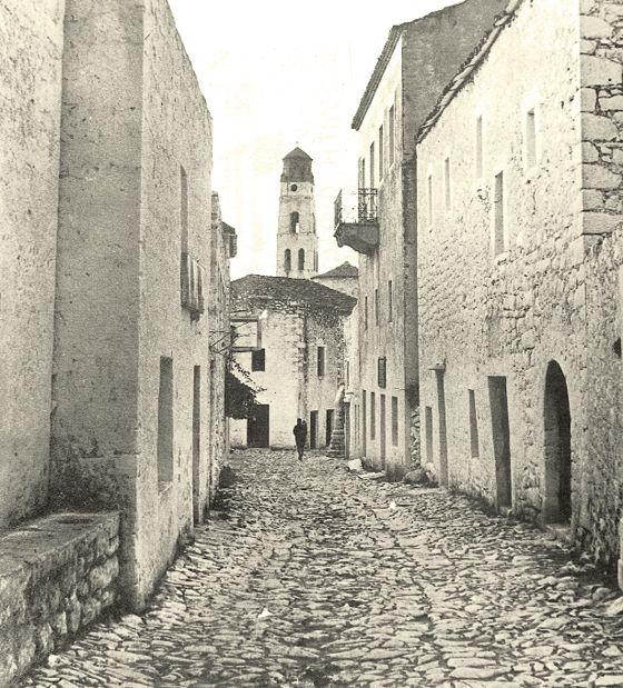 Aρεόπολη 1950. Φωτ. Γ. Bουρλίτη