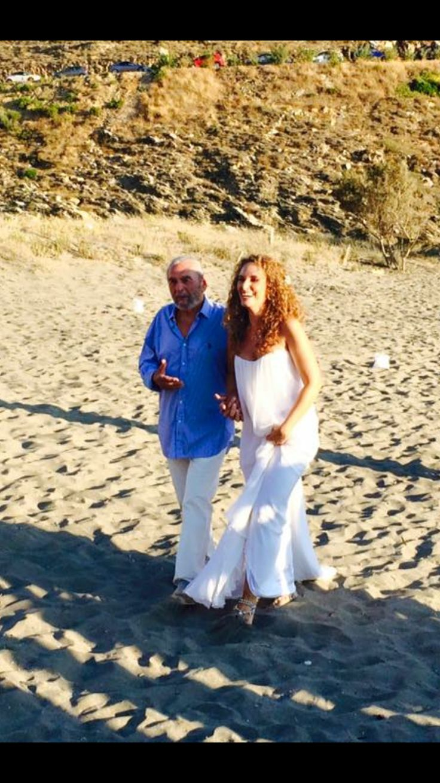 Daddy's Girl - Beach Wedding Mani