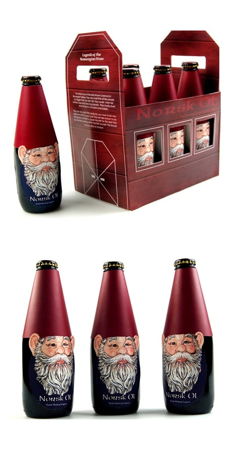 Mythical Design for Norsk Ol Beer / #beer