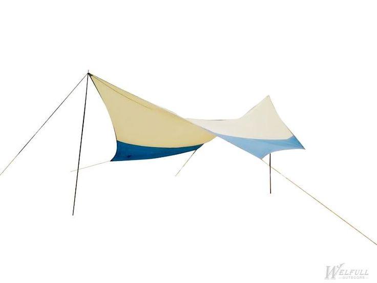 Large 5*5M camper awning tarp tent