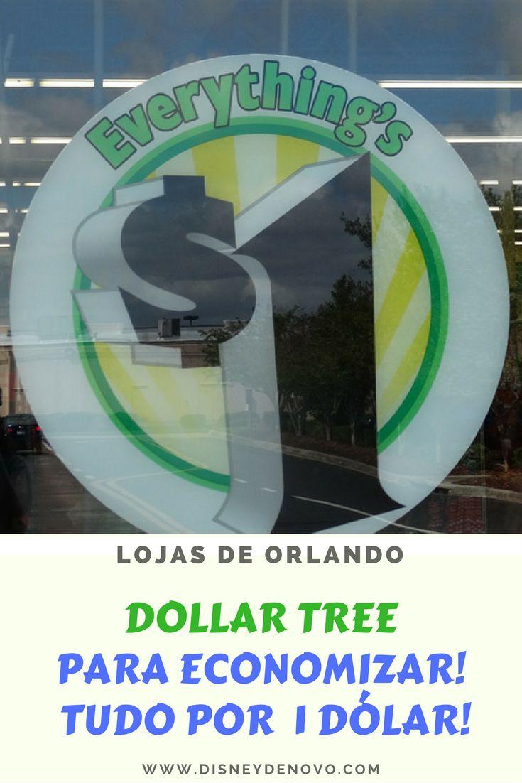 Dollar Tree, Orlando, loja de 1 dólar, compras em Orlando, dicas de orlando, como economizar em Orlando