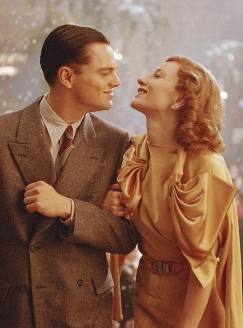 The Aviator (2004) - Leonardo DiCaprio as Howard Hughes; Cate Blanchett as Katharine Hepburn