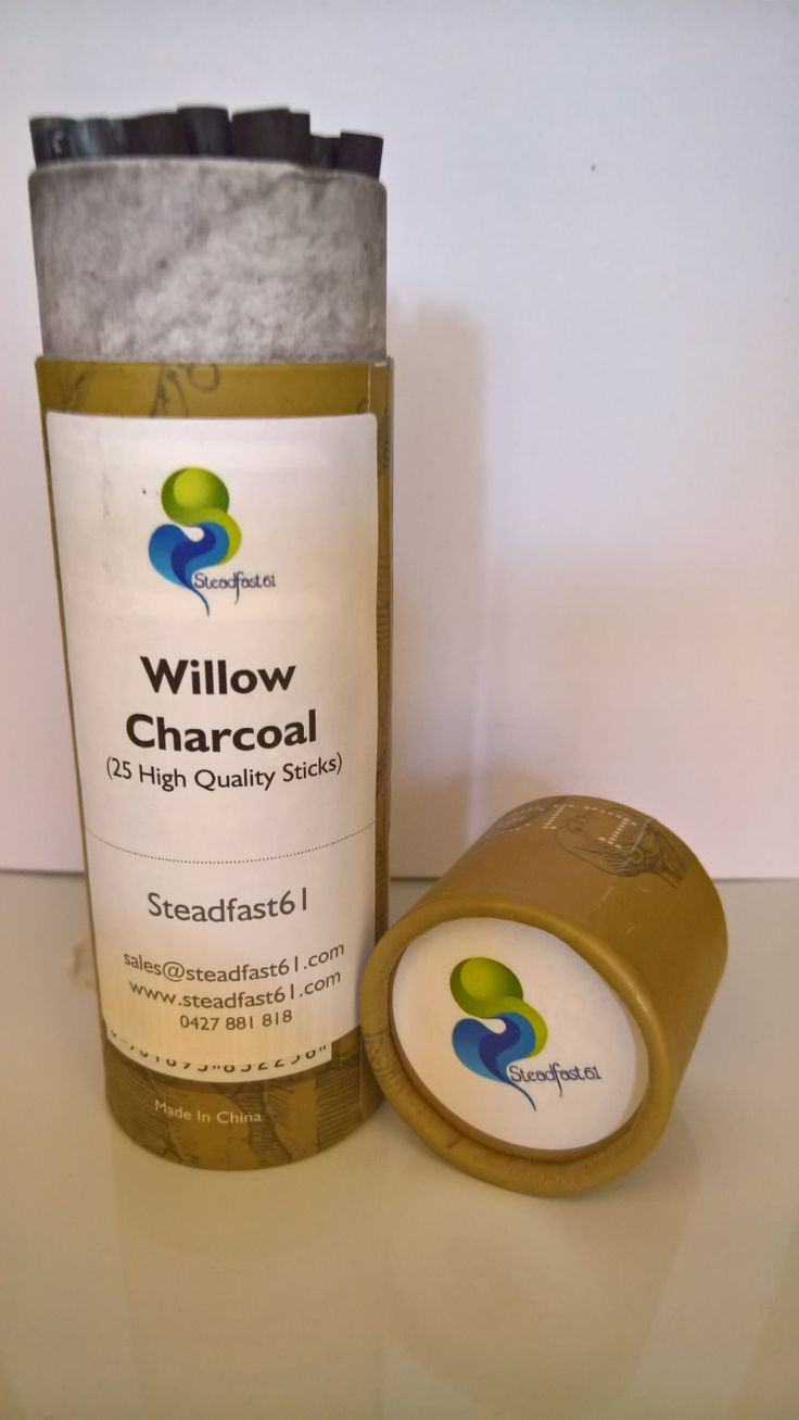 Willow Charcoal is best.  Comes in solid packaging for delivery and storage