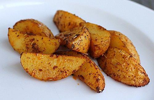 Kartoffelspalten mediterran, aus der Actifry oder aus dem Backofen (Rezept mit Bild) | Chefkoch.de