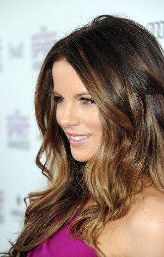beautiful ombre on brunette