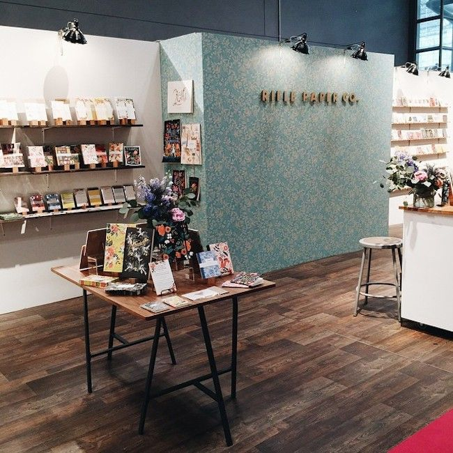 Masha Dyans At The National Stationery Show In New York City This Past Weekend A Pictorial Look Our Booth And Some Pals We Love