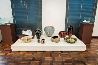 Galeria de arte Monalisa: Exposição de cerâmica japonesa