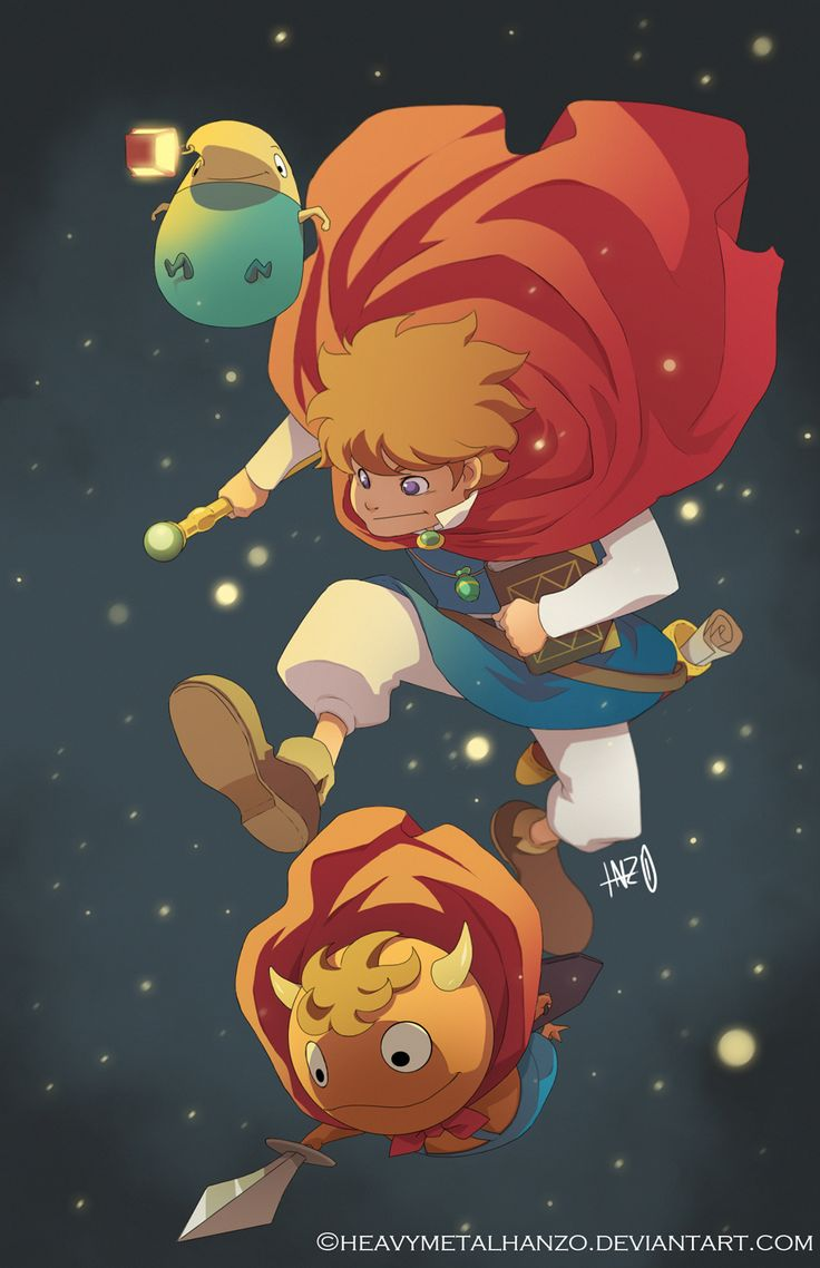 Ni No Kuni-Oliver and Friends by HeavyMetalHanzo.deviantart.com on @deviantART, this is my new all time fave game because I am obsessed with Studio Ghibli and Level 5 fan, I can't wait to see how the rest of the story unfolds