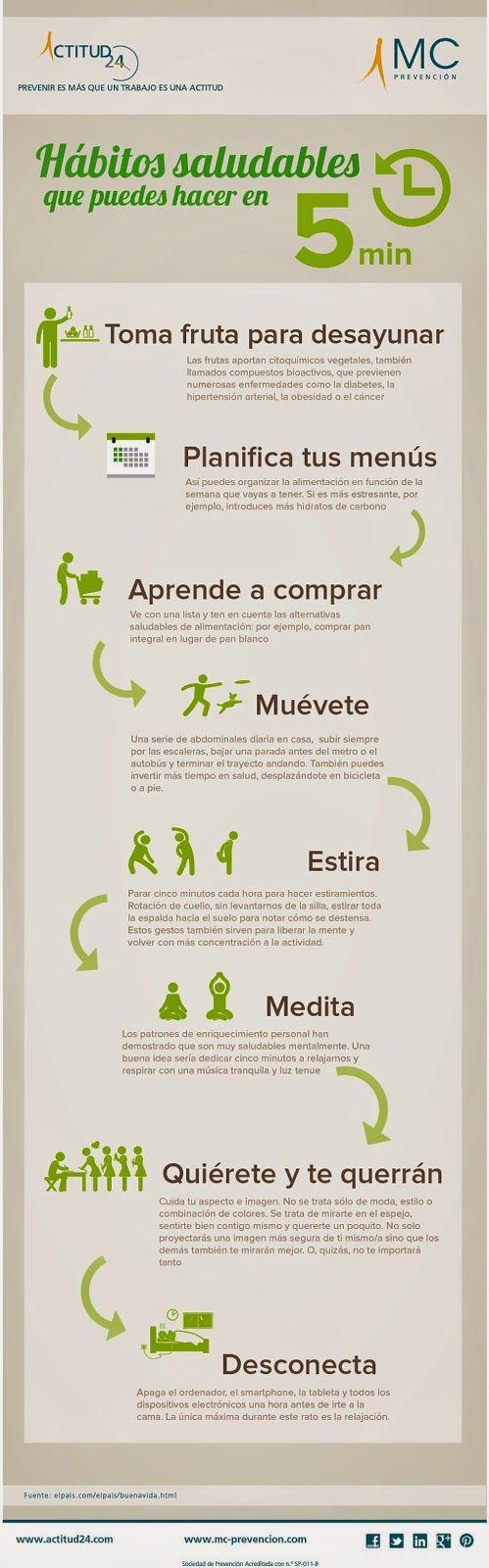 Recursos para la Educación Ambiental: Consejos para tener una vida saludable