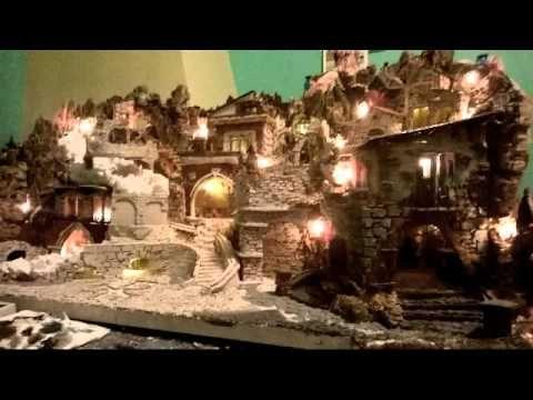 come costruire delle montagne per presepe in polistirolo - YouTube
