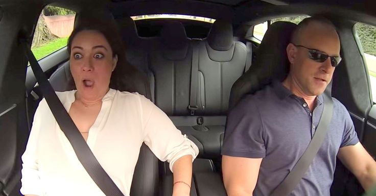 The new Tesla Model S P85D can go from 0 to 60 mph in three seconds, and it can scare the heck out of people.