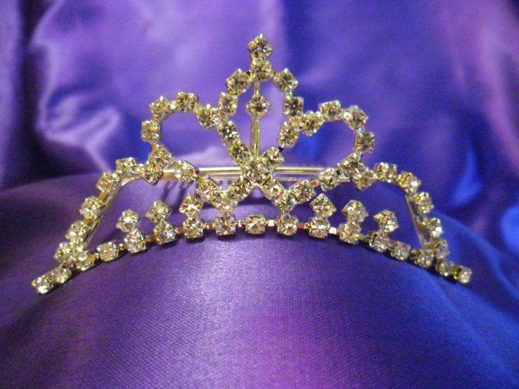 Diamante Tiara - Style 3