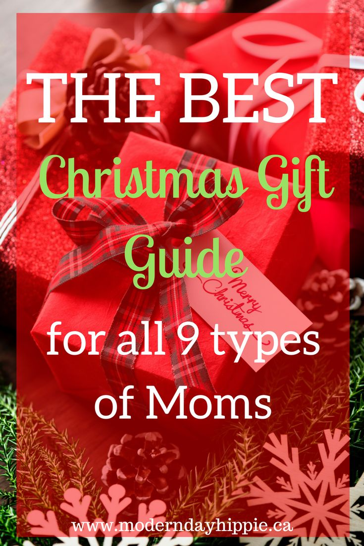 The ultimate list of handmade items that you don't have to make! Find the perfect Christmas gift for all the great moms on your list! via @Modern Day Hippie Mama