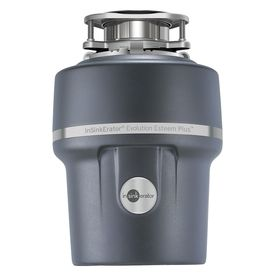 Insinkerator Evolution 1-Hp Continuous Feed Noise Insulation Garbage Disposal Esteem Plus