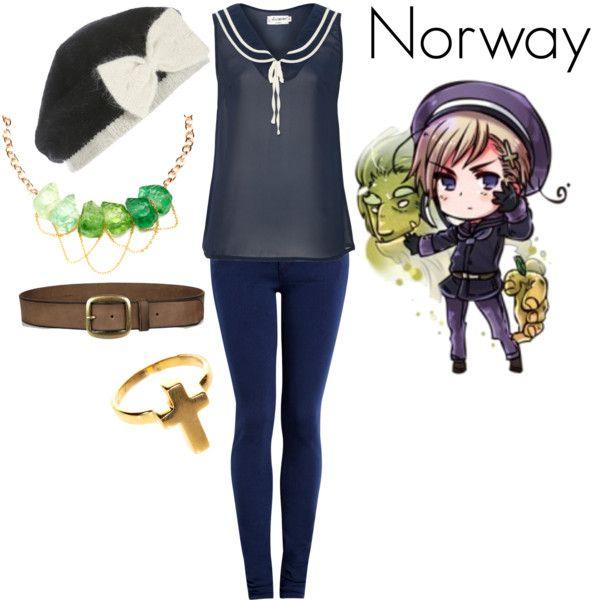 """Hetalia Norway"" by pieisyummy on Polyvore"