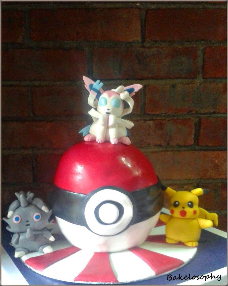 Pokemon cake - Tarta Pokemon