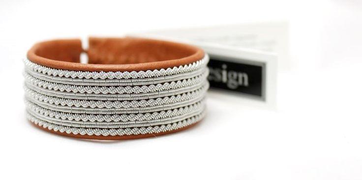 Sami Bracelet *NOATUN – AC Design | Sami bracelets | Sami necklaces | Sami rings | Sami anklets www.acdesign.se #acdesign #bracelet #gifts #cuff #leather