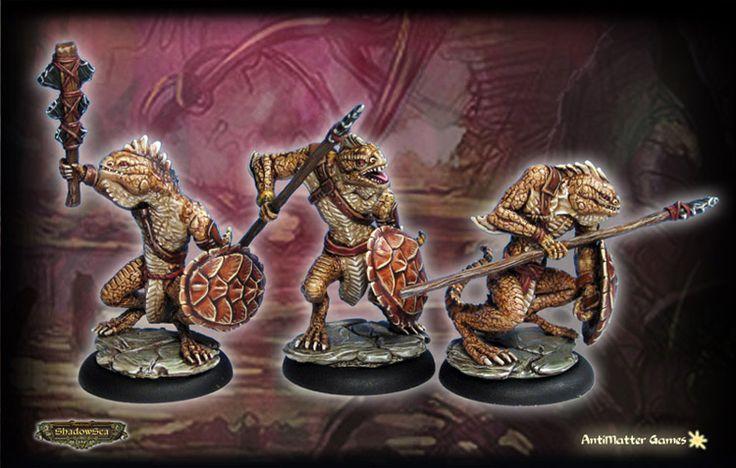 Draconid Legio - Ridgeback Lizardman Warriors (B)