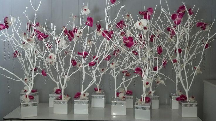 Best tree branch centerpieces ideas on pinterest