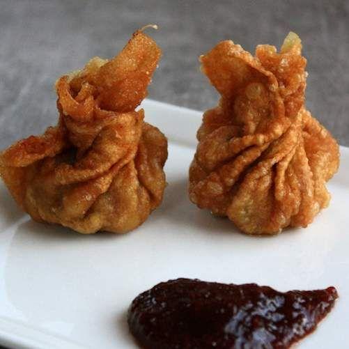 Recette Raviolis chinois frits au boeuf par oupslala25 - recette de la catégorie Entrées