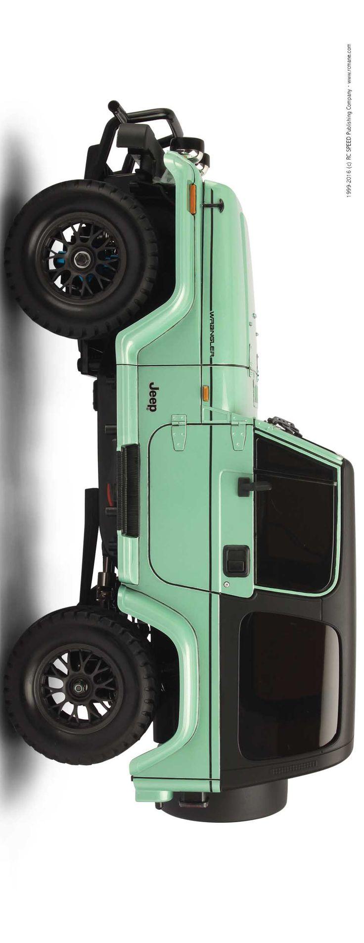 SA070 - Tamiya Item.84071 (2009) CC-01 Chassis Jeep Wrangler(YJ), Off-Road 1/10 Shaft Driven 4WD RC Car -Bodyworks by:CY Ning, Supplier by: Waigo Model Hobbies Ltd.