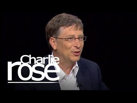 William Gates Sr. and Bill Gates Jr. | Charlie Rose