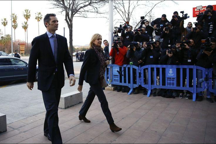 L'infante Cristina jugée pour fraude et corruption - La soeur du roi d'Espagne au tribunal
