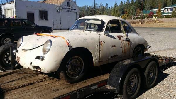 Cheap Porsche 356 Coupe? - http://barnfinds.com/cheap-1961-porsche-356-coupe/