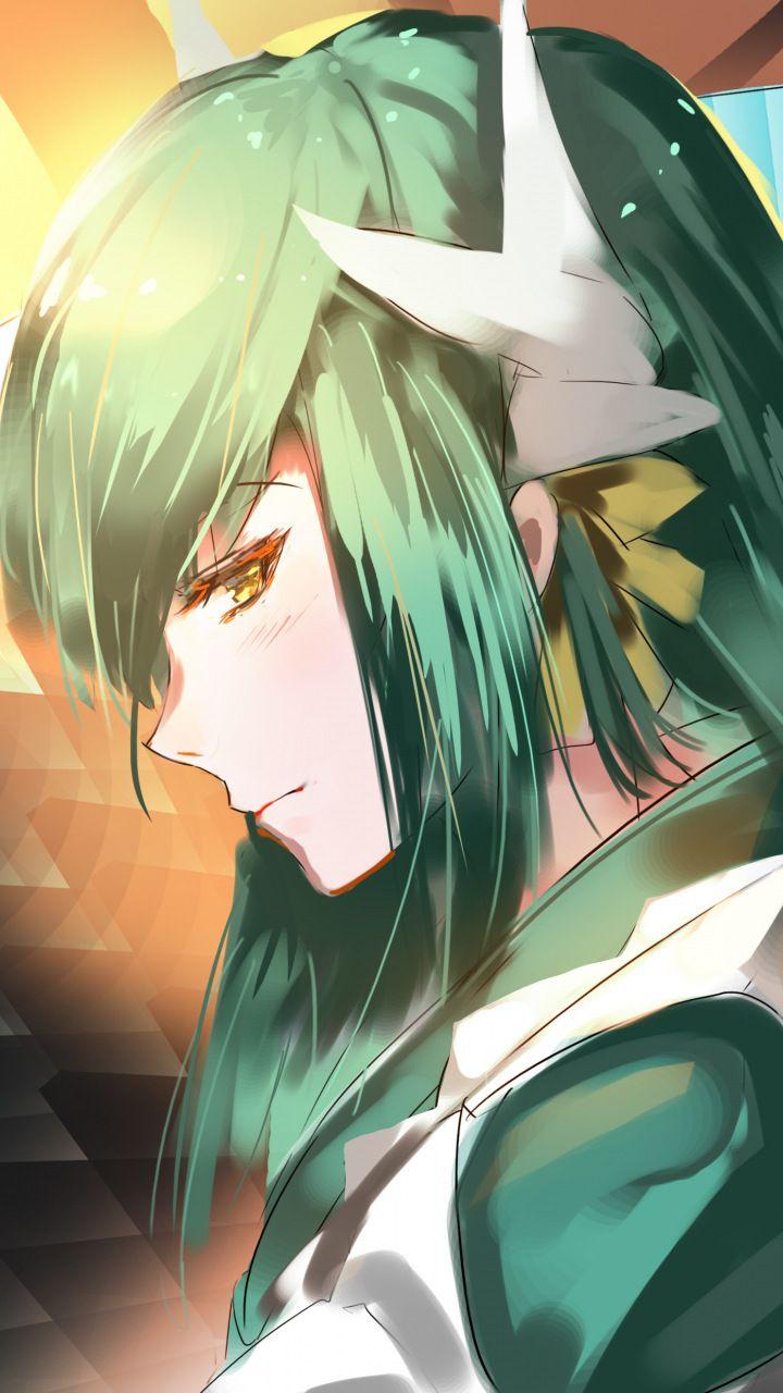 Pin On Anime Wallpapers Anime wallpaper green hair