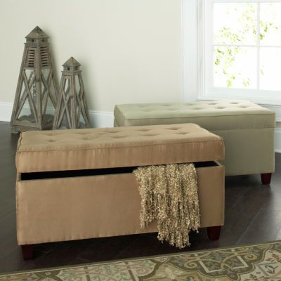 Jcpenney holden wood bench with ratan baskets jcpenney Jcpenney home decor
