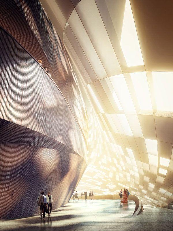 Snøhetta, Busan Opera Competition, South Korea architecture, architecture competition, cultural architecture, opera house design, Norwegian architects