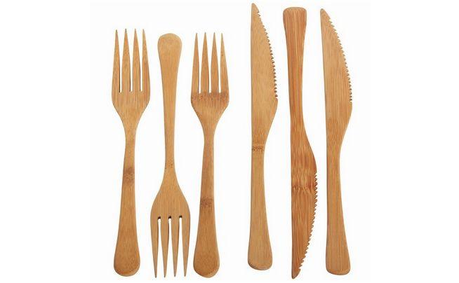 Bambus bestik // Fri for kemi // Bæredygtig via Naturlig hverdag // sunde madkasser