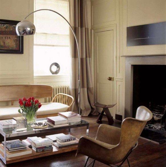 Inspiration Decor Arco Light Rooms