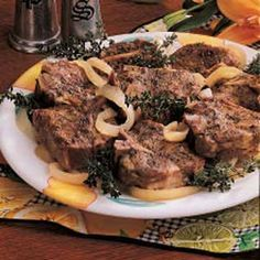 Kroger has lamb marked down sometimes and I buy it, get confused about what to do about it, and freeze it. This recipe looks good! I have some chops thawing right now to try :)
