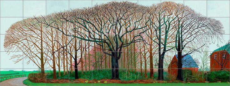 David HockneyFour Seasons619*233iPad Drawing