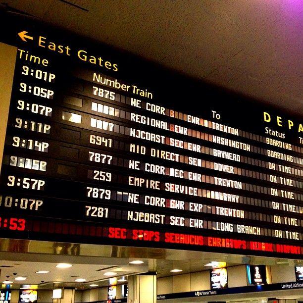 New York Penn Station en New York, NY