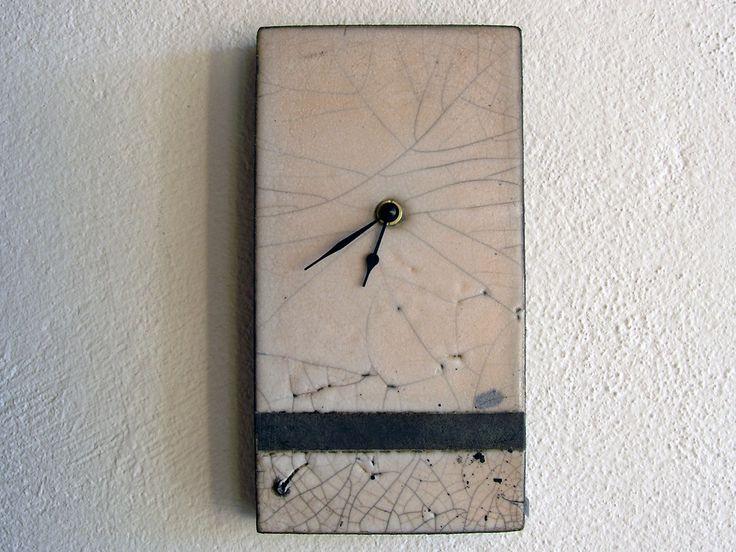 Raku clock.