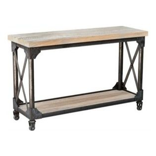Ironworks Console Table - St. Clements. Custom. Available for order at Warehouse 74.