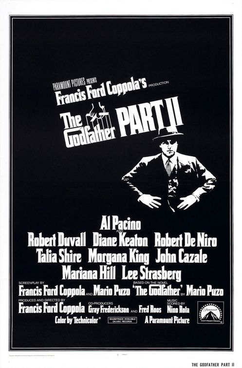 Its rare when a sequel is as good or is better than the original. But we have that with The Godfather Part 2. Tour de force cast, great writing. And Micheal becoming everything he didn't want to be.