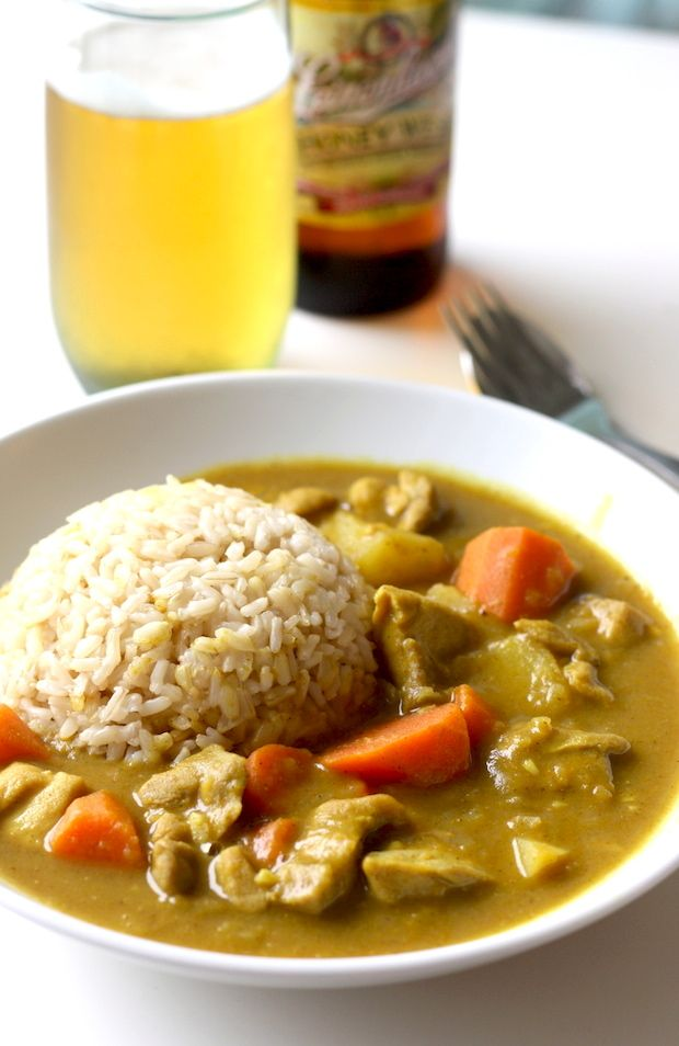 Japanese Chicken Curry recipe by SeasonWithSpice.com @seasonwithspice
